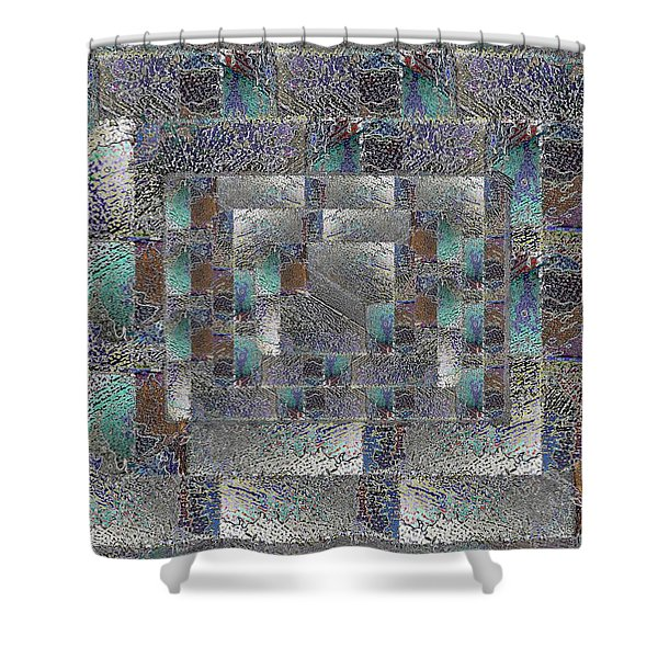 Facade 12 Shower Curtain