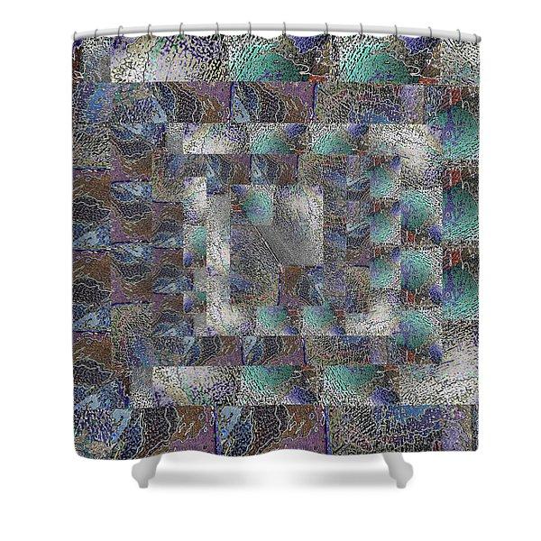 Facade 13 Shower Curtain