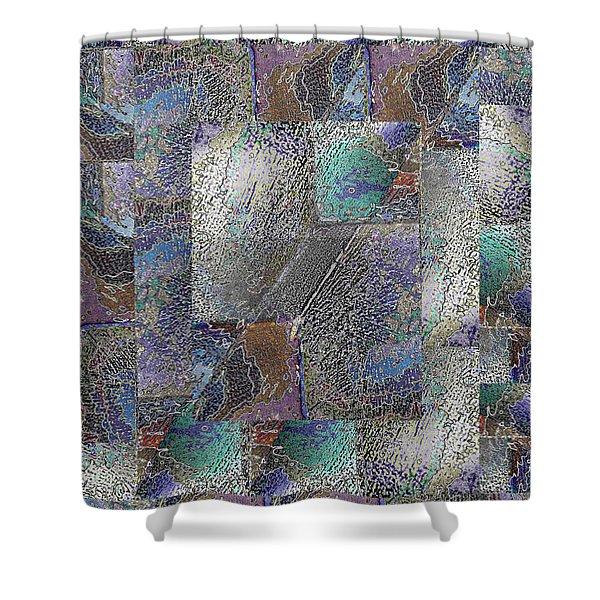 Facade 15 Shower Curtain