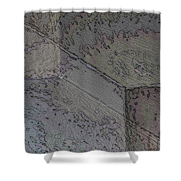Facade 8 Shower Curtain