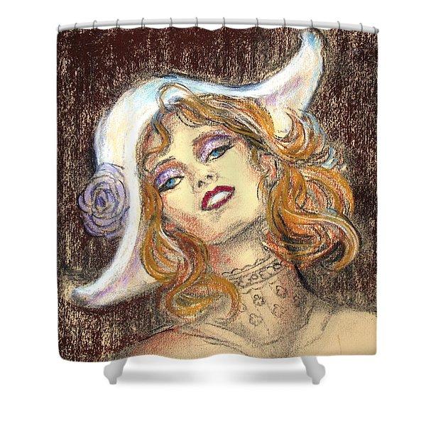 Fashion Drawing Shower Curtain