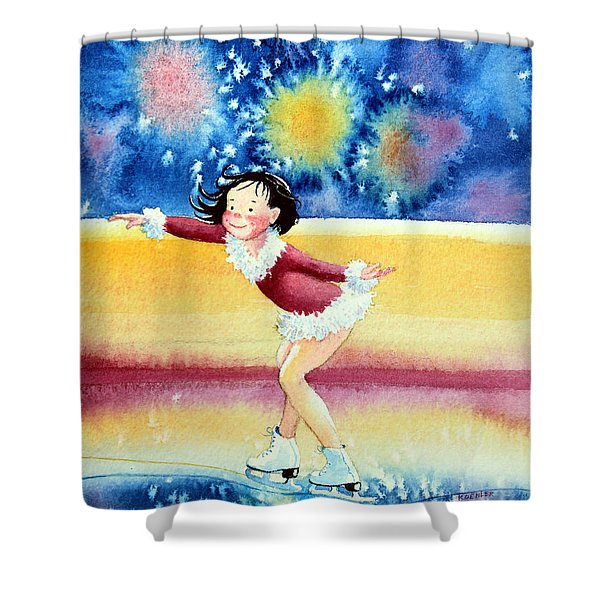 Figure Skater 17 Shower Curtain
