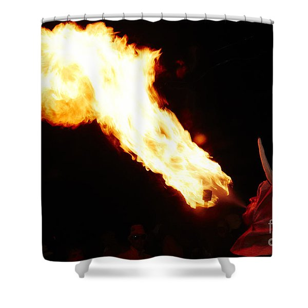 Shower Curtain featuring the photograph Fire Axe by Agusti Pardo Rossello