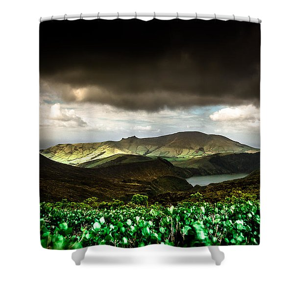 Flores Island - Azores Shower Curtain