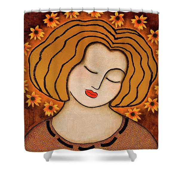 Flowering Intuition Shower Curtain