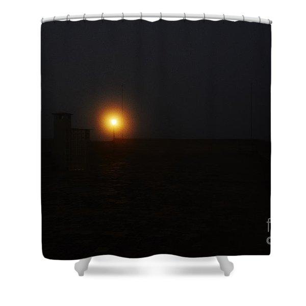 Fog In San Salvador Shower Curtain