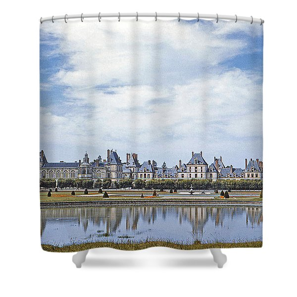 Fontainebleau Palace  Shower Curtain