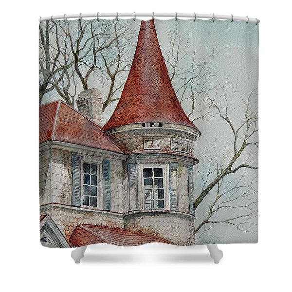 Forgotten Lady...sold Shower Curtain