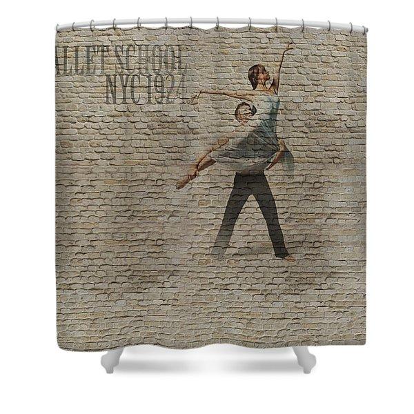 Forgotten Romance 3 Shower Curtain