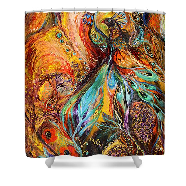 Four Elements Earth Part 3 From 4 Shower Curtain