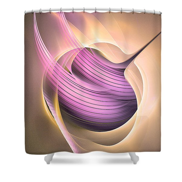 Aeternitas - Abstract Art Shower Curtain