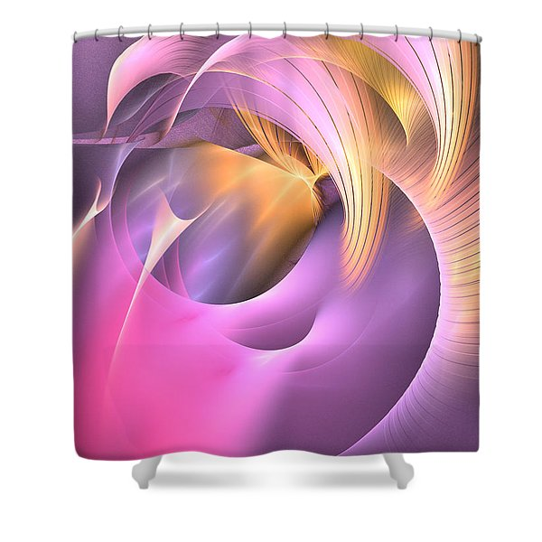 Cornu Copiae - Abstract Art Shower Curtain