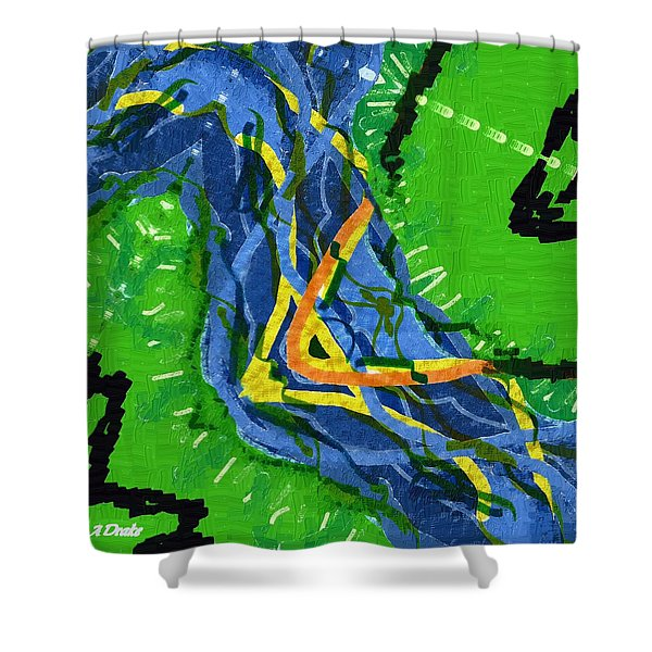 Freedom River Shower Curtain