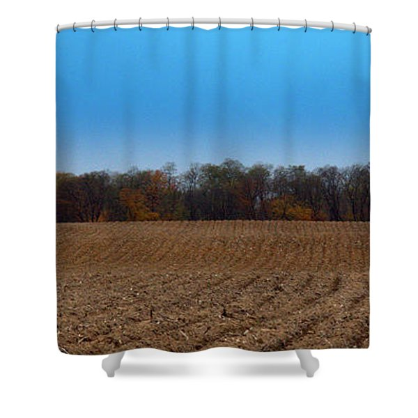 Freshly Tilled Shower Curtain