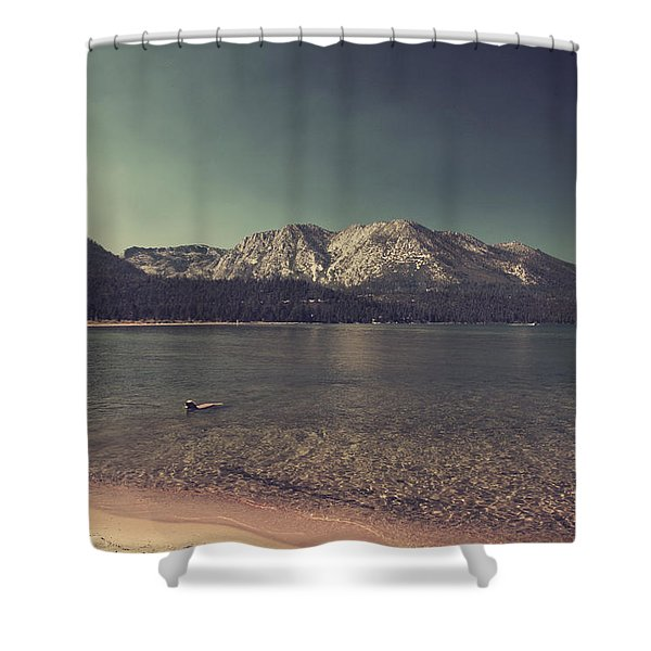 Fun At The Lake Shower Curtain