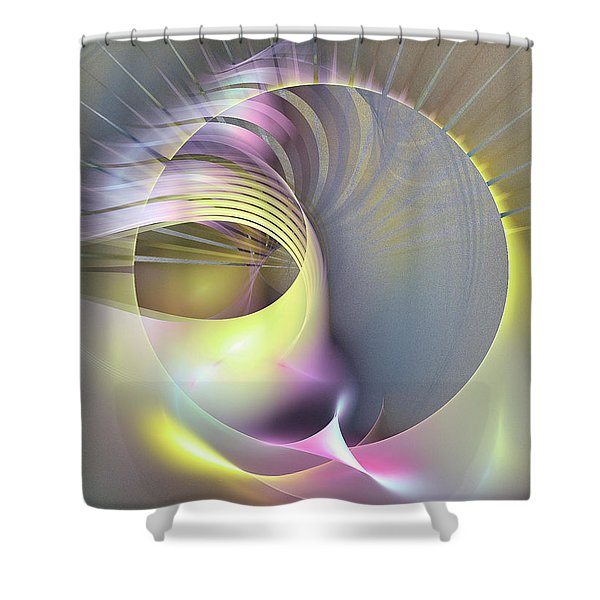 Futura - Abstract Art Shower Curtain