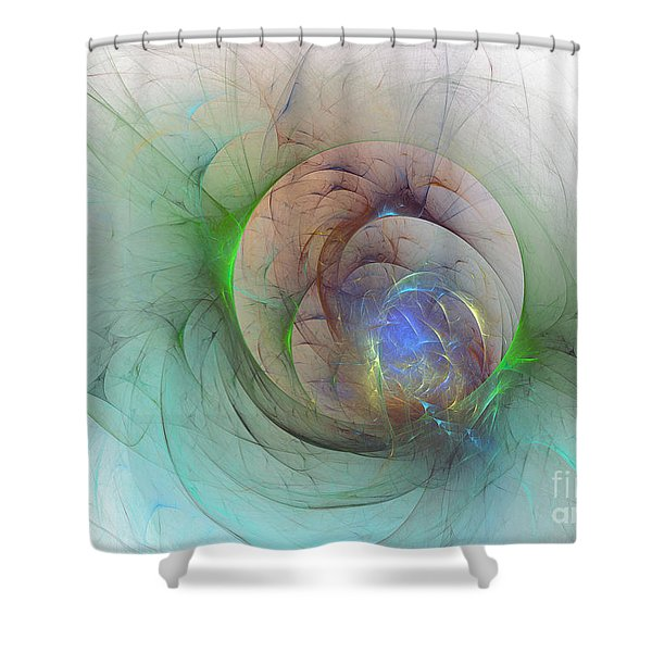 Gentle Trance Shower Curtain