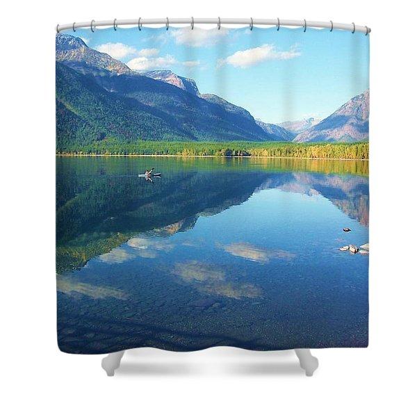 Glacier Park Magic Shower Curtain