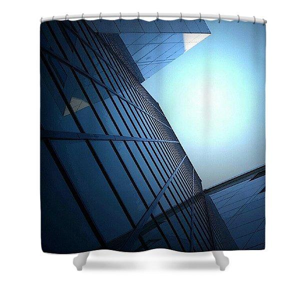 Glassy Sun Shower Curtain