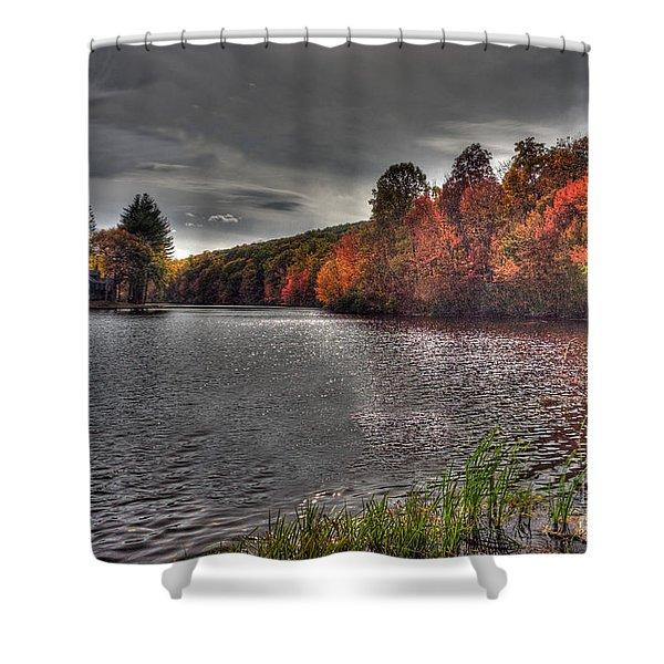 Glimmer Matthies Island Shower Curtain