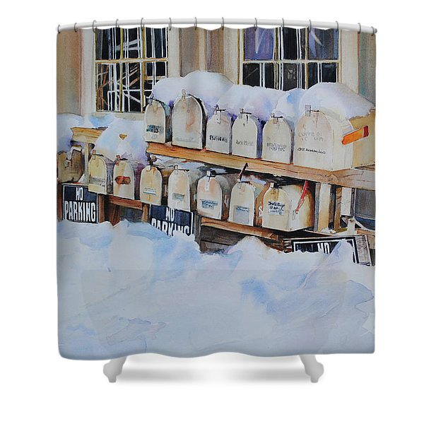 Going Postal II Shower Curtain
