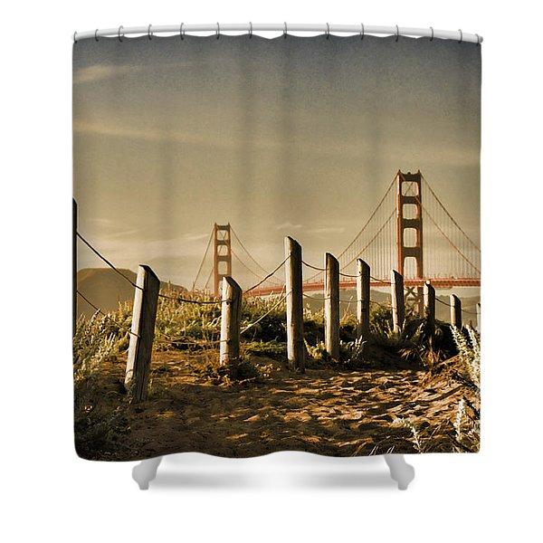 Golden Gate Bridge - 3 Shower Curtain