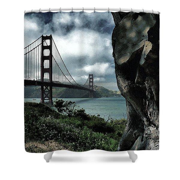 Golden Gate Bridge - 4 Shower Curtain