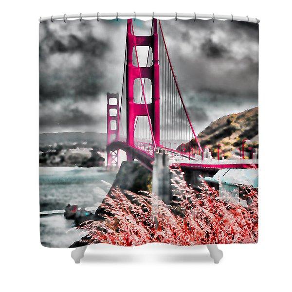 Golden Gate Bridge - 5 Shower Curtain