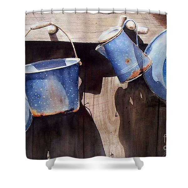Gone To Pot...sold  Shower Curtain