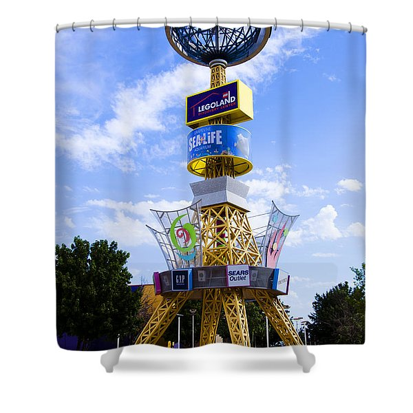 Grapevine Mills Mall Shower Curtain