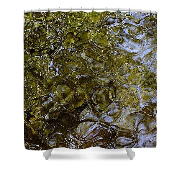 Green Dream Shower Curtain