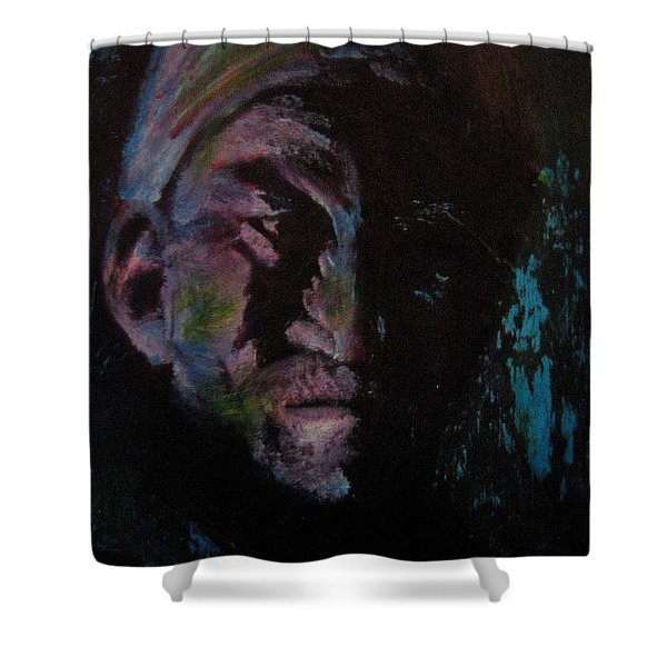 Grudge Shower Curtain