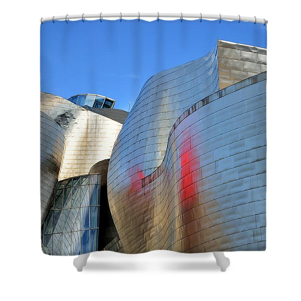 Guggenheim Museum Bilbao - 3 Shower Curtain
