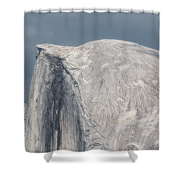 Half Dome From Glacier Point At Yosemite Np Shower Curtain