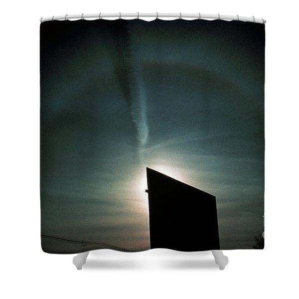 Halo With Sun Dog Shower Curtain