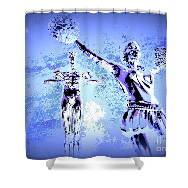 Happy Times Remembered Shower Curtain