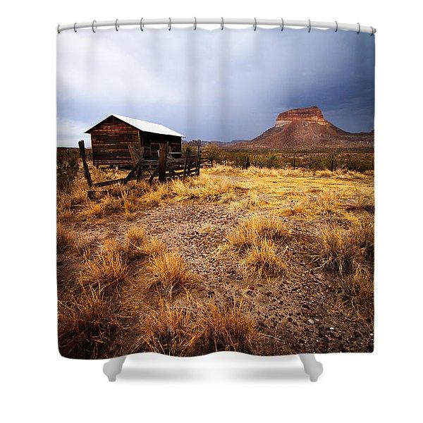 Hard Times Shower Curtain