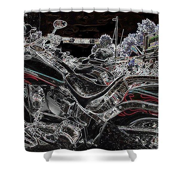 Harley Davidson Style 3 Shower Curtain