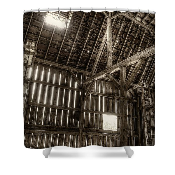 Hay Loft Shower Curtain