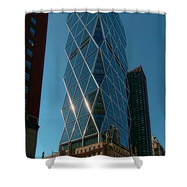 Hearst Building Shower Curtain