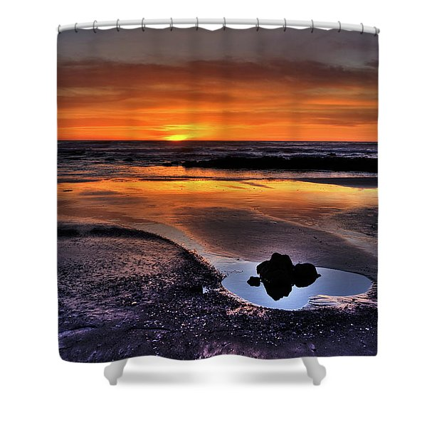 Heart Of The Central Coast Shower Curtain