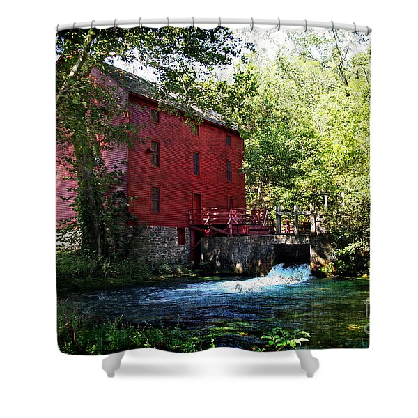 Heart Of The Ozarks Shower Curtain