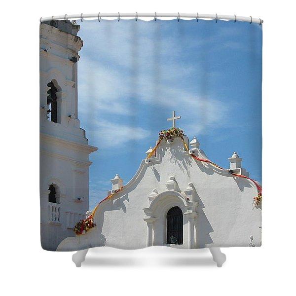 Heavenly Roofline Shower Curtain