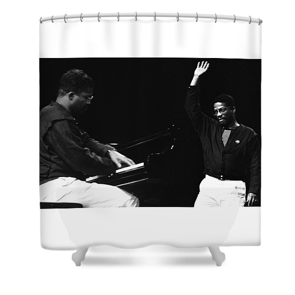 Herbie Hancock Shower Curtain