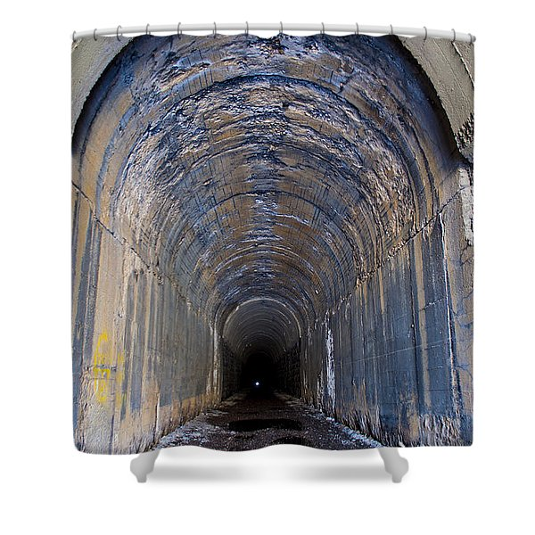 Hidden Tunnel Shower Curtain
