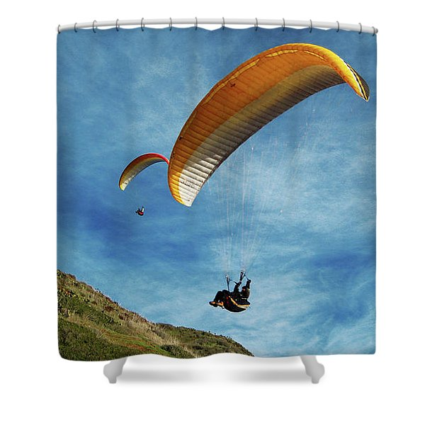 High Flyers Shower Curtain