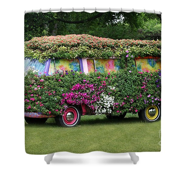 Hippy Shower Curtain