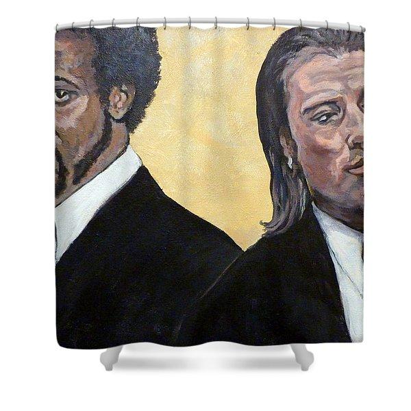 Hit Men Shower Curtain