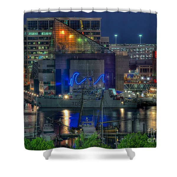 Hmcs Goose Bay Shower Curtain