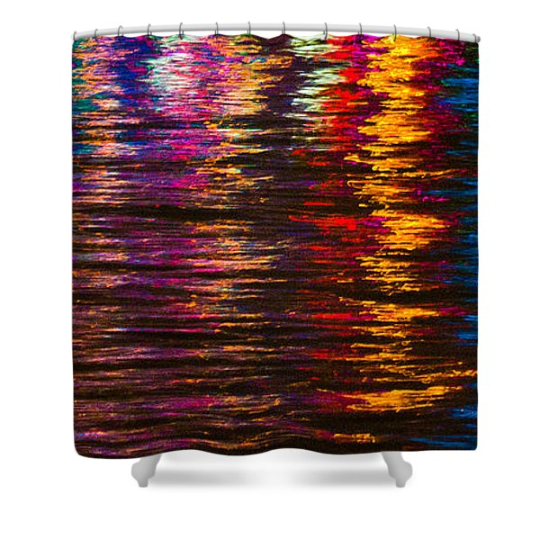 Holiday Reflections Shower Curtain